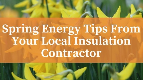 Spring Energy Tips From Your Local Insulation Contractor (1)